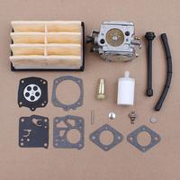 Carburetor Gasket Kit fits Husquarna 268 288 272 272XP Tillotson HS254B Chainsaws Parts Air Filter Carb 503280316