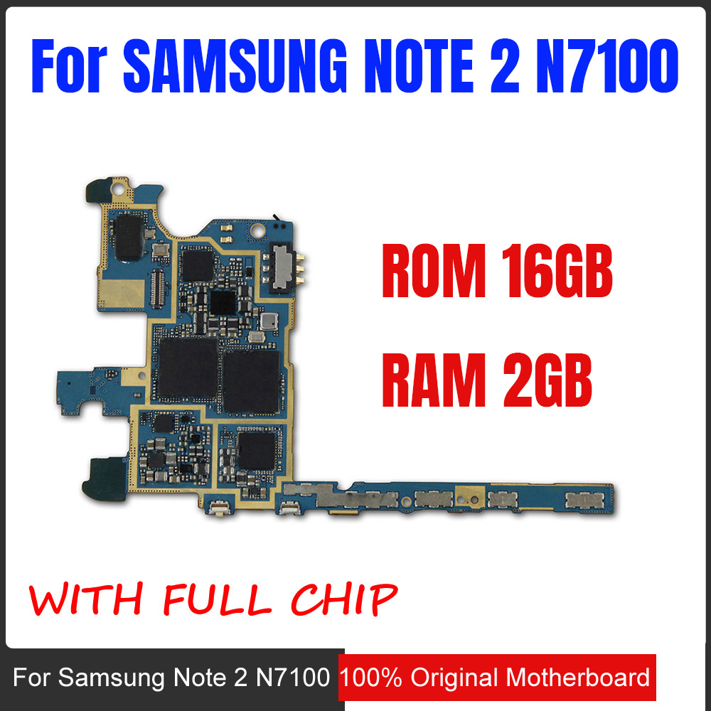 Original Unlocked Motherboard Mainboard For Samsung Galaxy Note 5 Circuit Board 2 N7100 Best Durable Case Cell Phones Europe Version 100 Main