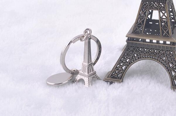 EMEC автомобильный брелок, подвеска в виде Эйфелевой башни, металлический брелок, индивидуальные брелки, лучшие подарки для женщин и мужчин, автомобильный брелок, держатель