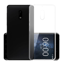 Newest Ultra Thin Slim Transparent Clear Silicone Phone Back Cover Case Colorless TPU Case For Nokia 2 3 5 6 7 8 3310 2017