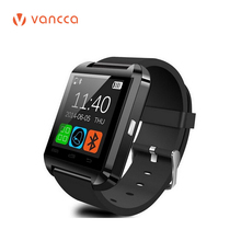 Fational Smart watch Bluetooth U8 Wrist Watch digital sport watches for iOS Android iPhone Samsung Wearable Electronic Device