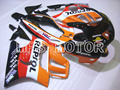 Free Shipping ABS Fairing Injection Bodywork Kit For Honda CBR600 F3 1995 1996 1997 1998 CBR 600 F3 95 96 97 98 RESPOL Orange Re