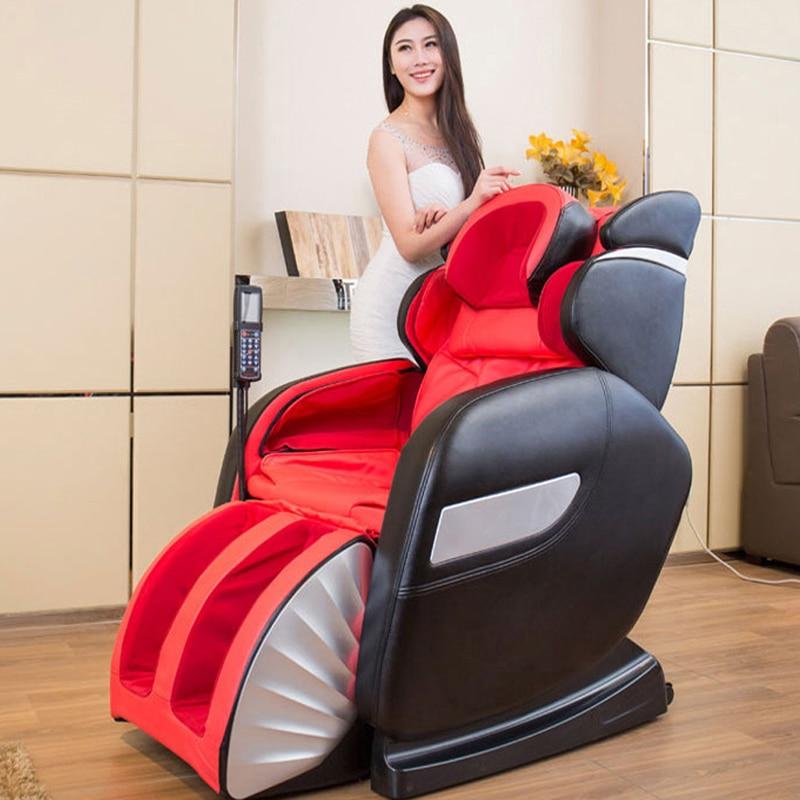 HFR-888-2G Healthforever Merek Kneading & Bergulir Airbag multi-fungsi Listrik Relax 4D Mewah gravitasi nol Kursi Pijat