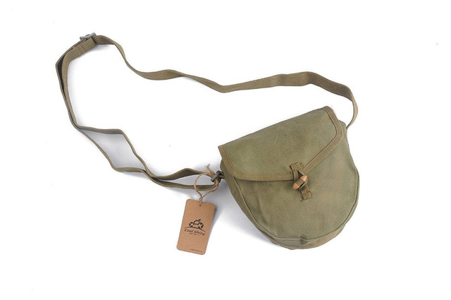 US $9 89 10% OFF|MILITARY ORIGINAL SURPLUS VIETNAM WAR PERIOD CHINESE DRUM  MAG ARMY AMMO POUCH World military Store-in Sports Souvenirs from Sports &