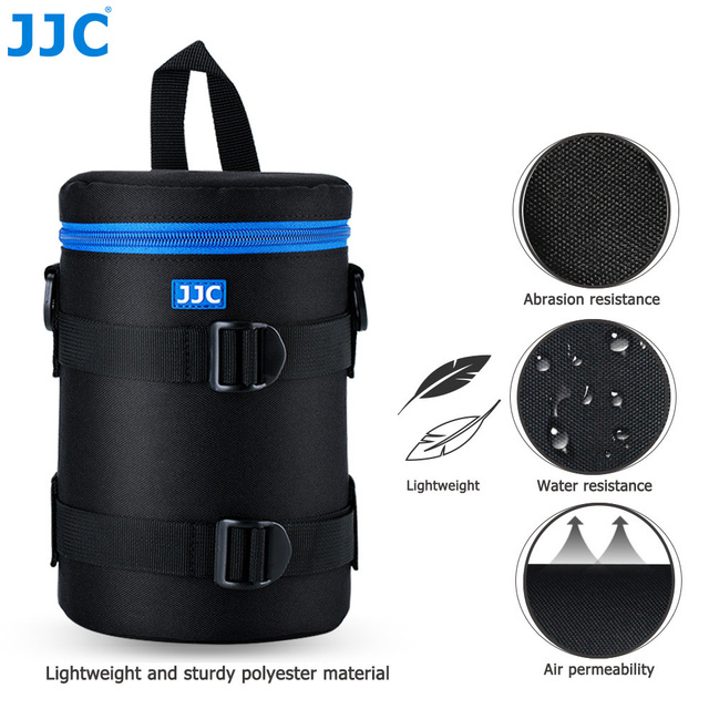 JJC appareil photo de luxe sac étanche pochette dobjectif pour Canon Sony Nikon Olympus Panasonic Fujifilm JBL Xtreme étui souple en Polyester pour reflex numérique