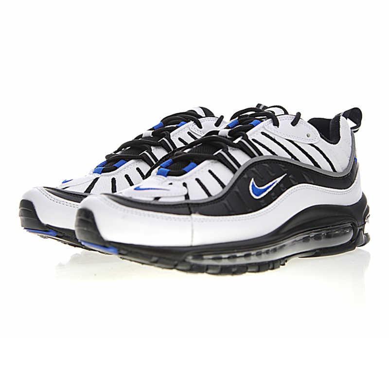 finest selection 668e6 d8612 Nike Air Max OG 98 Gundam Men's Running Shoes, Wear-resistant White &  Black, Shock Absorption Breathable 640744 108