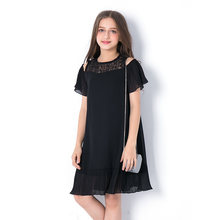 Летнее платье для девочек подростков детская одежда платья детское