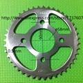 428 43 T roda dentada da motocicleta / CG CBT CBF 125 150 428 - 43 T roda dentada da motocicleta / motor roda dentada 43 dentes / sujeira