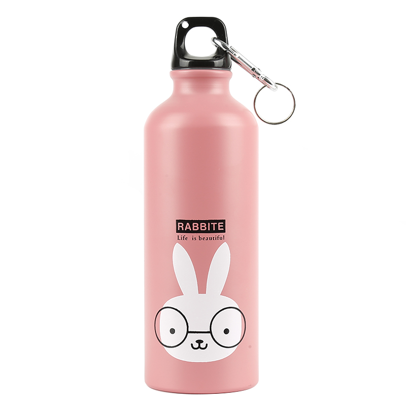 HTB1FRElXHr1gK0jSZR0q6zP8XXaH 500ml Kids Water Bottle Water Bottle Modern Design Lovely Animals Portable Sports Cycling Camping Bicycle School Hiking Outdoor