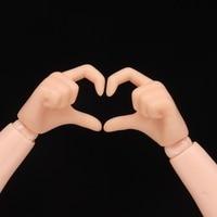 BJD Doll single hand heard shape for ob24