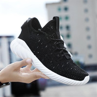 Women Breathable Casual Shoes New Women's Soft Soles Flat Shoes Fashion Air Mesh Summer Shoes Female tenis feminino Sneakers