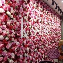 40x60cm Silk Rose Flower colorful Artificial Flower for Wedding Decoration Flower Wall Romantic Wedding Backdrop decoration 1pc цены