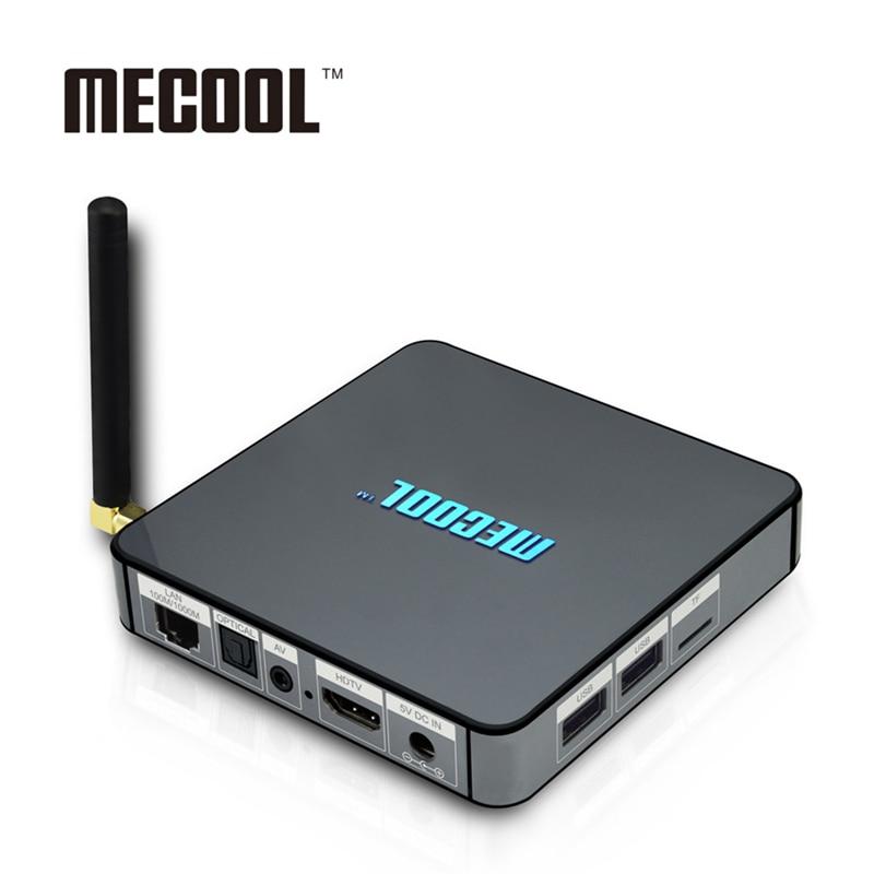 MECOOL BB2 Pro 3GB DDR4 RAM 16GB ROM 4K BT4.0 2.4/5.8G Wifi Smart Android Tv Box PK x96 a95x x92 htv 5 xiaomi mi box Set Top Box zidoo h6 pro smart set top box 2gb ram 16gb rom android 7 1 2 4g 5 0g wifi 1000m gigabit lan bluetooth 4 1 tv box