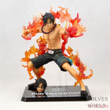 free shipping Anime One Piece ZERO Portgas D Ace PVC Action Figure Model Collection Toys for gift
