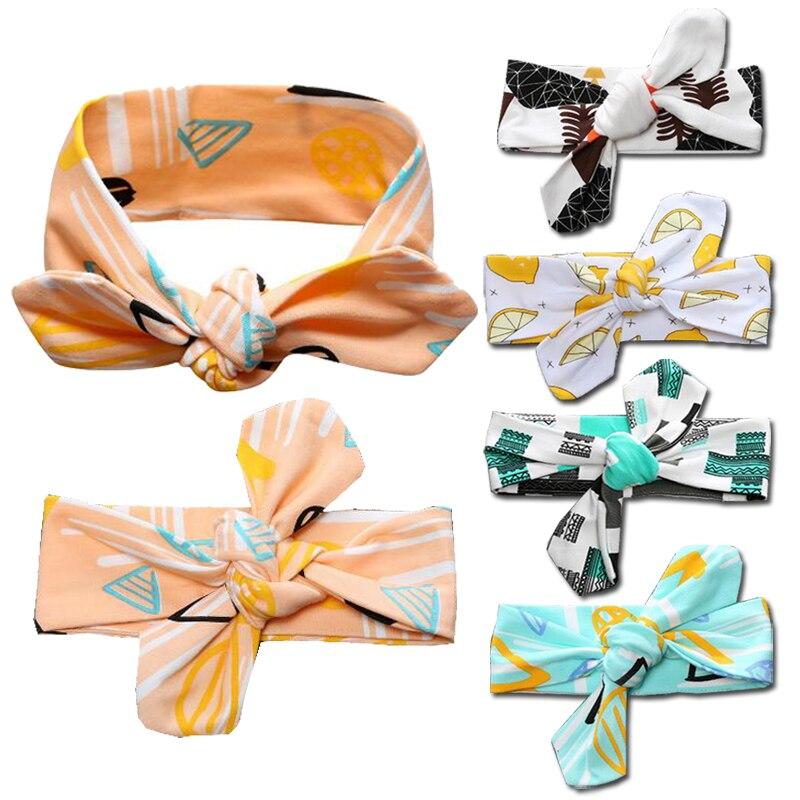 3pcs/lot Baby Girl Newborn Accessories Cotton Children Hair Bands Elastic Baby Boys Turban Head Wrap Stuff for Babies Reusable