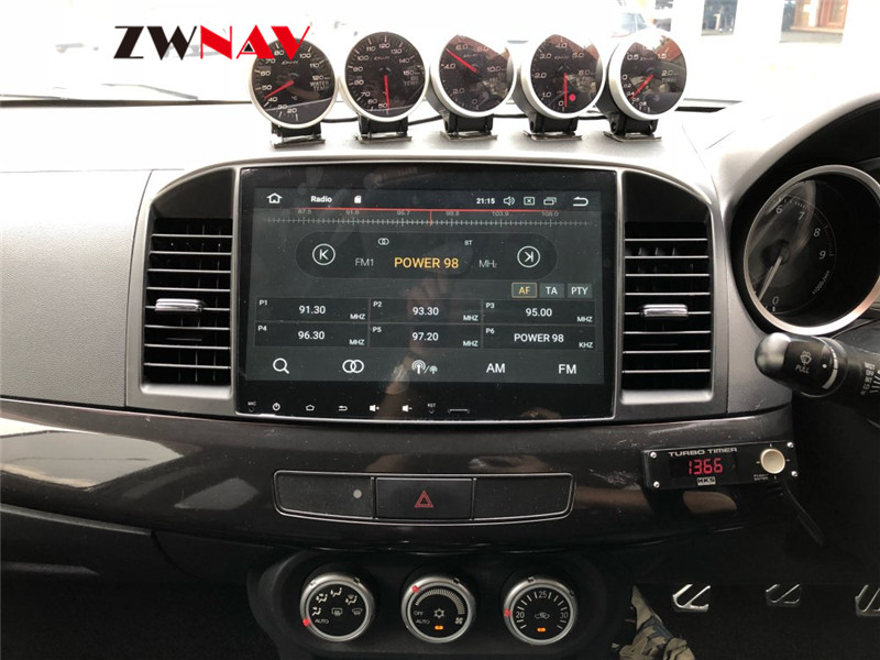 Android 8.1 RAM 4GB ROM 32GB NO DVD Car GPS Navigation Nead Unit For Mitsubishi Lancer Lancer X Galant Fortis 2007-2017 EVO 10