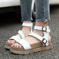 Плюс Размер Лето Женская Обувь Клинья Удобные Сандалии Женщин Платформы Сандалии Sandale Chaussure Femme Высокие Пятки Sandalias