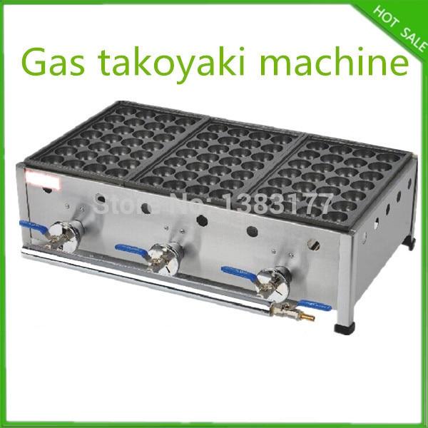free shipping 3 plate gas takoyaki plate machine takoyaki grill takoyaki maker