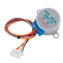 5 Pcs/lot moteur pas à pas 28BYJ-48 5V 4 phases 5 fils intelligent électronique engrenage à courant continu moteur Micro réduction pour arduino Kit de bricolage