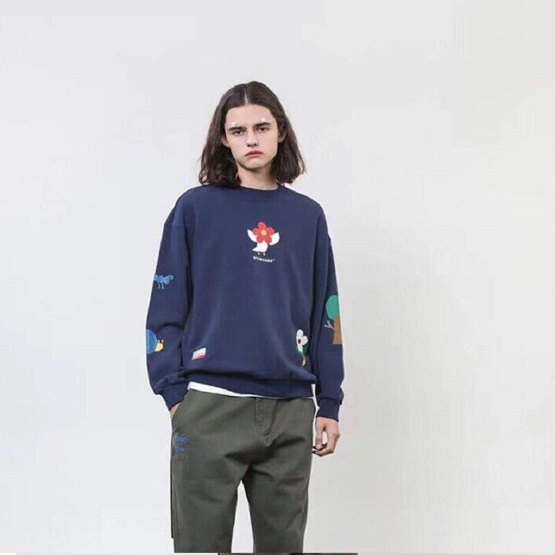 Femmes Sweat-Shirts À Capuche Imprimé pullover décontracté Mignon Pulls Pull À Manches Longues O-cou Polaire hauts 2019