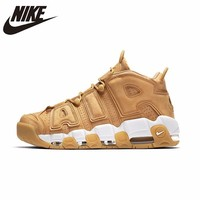 NIKE Air More Uptempo Original Mens Basketball Shoes Stability Retro High Support Sports Sneakers For Men Shoes