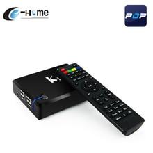 K1 Android DVB S2 Caja de la TV Árabe IPTV Amlogic POP Francés S805 Quad Core TV BOX Receptor de Satélite Apoyo CCcam WiFi NEWcam KODI