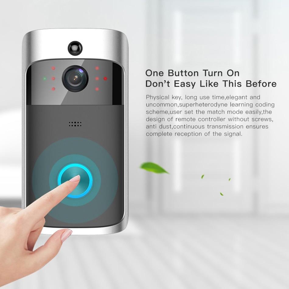 Smart IP Video Intercom WI-FI Video Door Phone Door Bell WIFI Doorbell  Camera For Apartments IR Alarm Wireless Security Camera by DHL