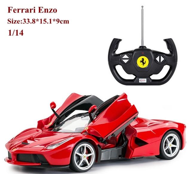 New car aficionados regalo 1/14 lf rc eléctrico drift coche de control remoto vehículo que se puede abrir puertas de ala de carreras modelo juguetes modelo hot juguetes