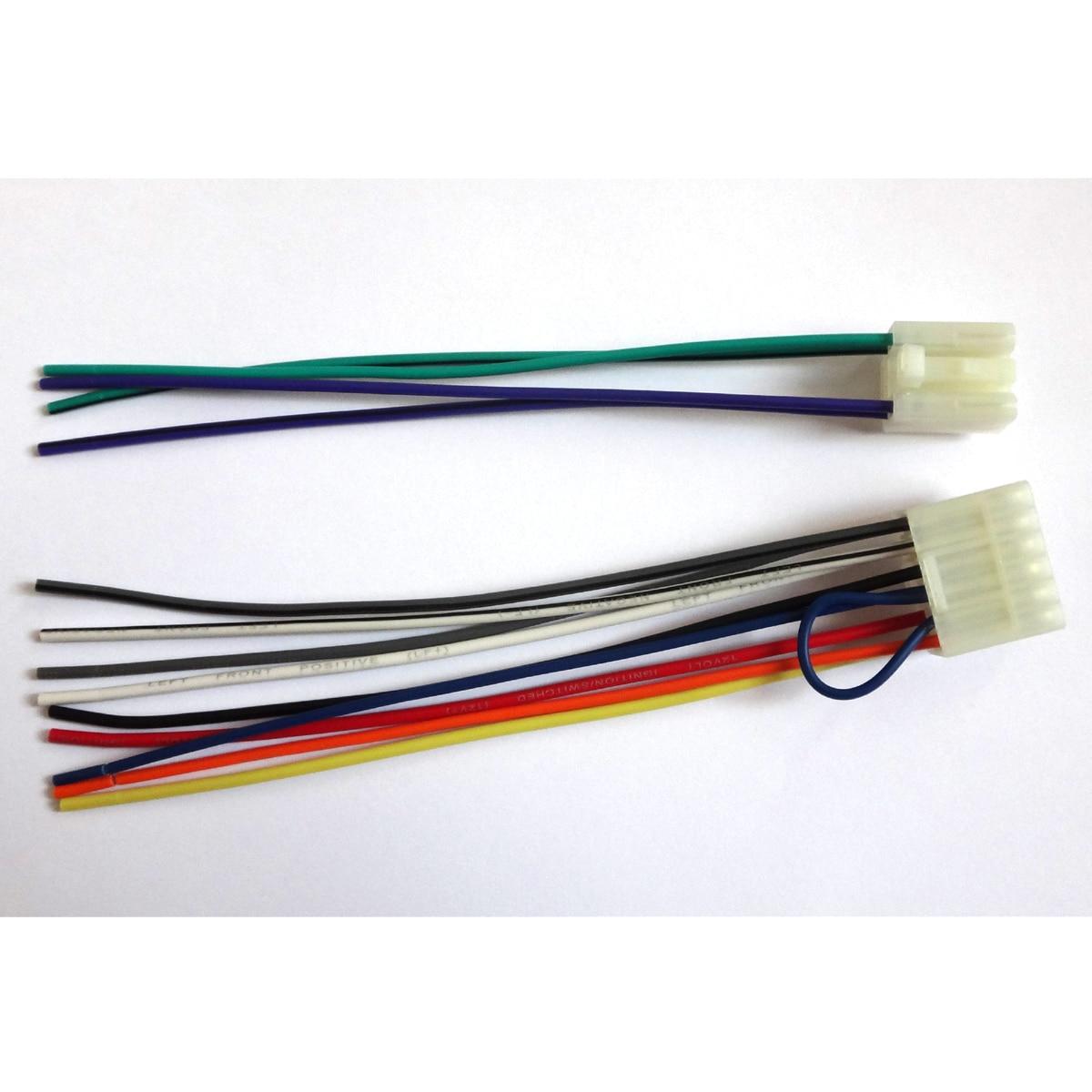 Radio-Reverse-Male-Wire-Wiring-Harness-Scion-Fr-S-Iq-Tc-Xa-Xb-Xd Vehicle Radio Wiring Harness on