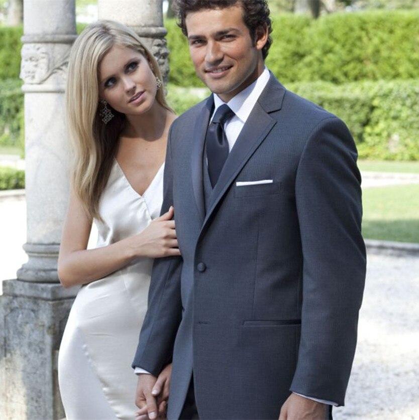 wedding tuxedo prom suits men bridegroom suit wool bleed groom wear ...