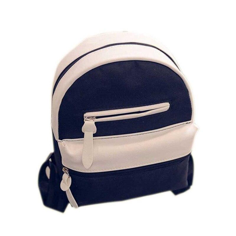 Canvas Backpacks Women School Bag Students Backpack Ladies Travel Bags Package LXX9