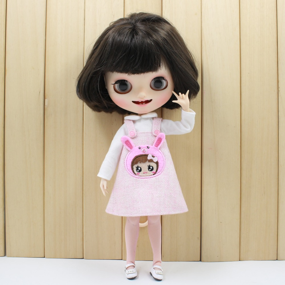 Neo Blythe Doll Bear Suit with Full Set 1