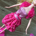 2016 Новые Красивые Ручной Партия Одежды Платье для Благородный Барби