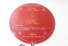 RepRap 3D-принтеры Запчасти pcb MK2Y Heatbed + кабель + ntc термисторы с DuPont головы Алюминий с подогревом Диаметр
