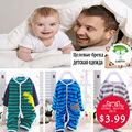 Brand Newborn Baby Boy Girl Pajama Animal Baby Pajama Polyester Sleep & Play Baby Pajamas
