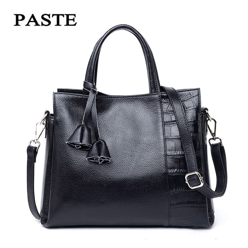 ФОТО NEW Elegant Natural Genuine Leather women leather handbags Aligators pattern shoulder crossbody bag Fashion women messenger bags