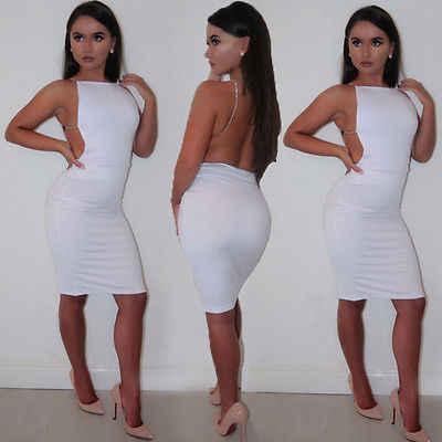 Hirigin 2018 Fasciatura Delle Donne Aderente Senza Maniche Bianco Nero Colori O-Collo Sera Sexy Del Partito Del Mini Vestito