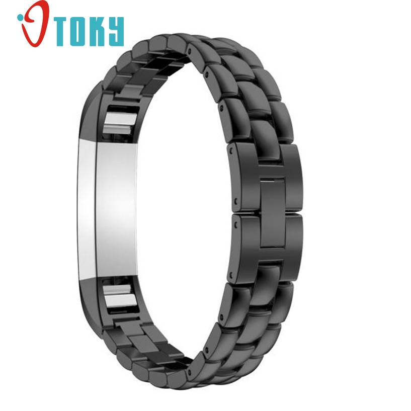 OTOKY Fabulous Luxury Genuine Stainless Steel Watch Band Wrist Strap For Fitbit Alta Tracker Wrist Watch Band