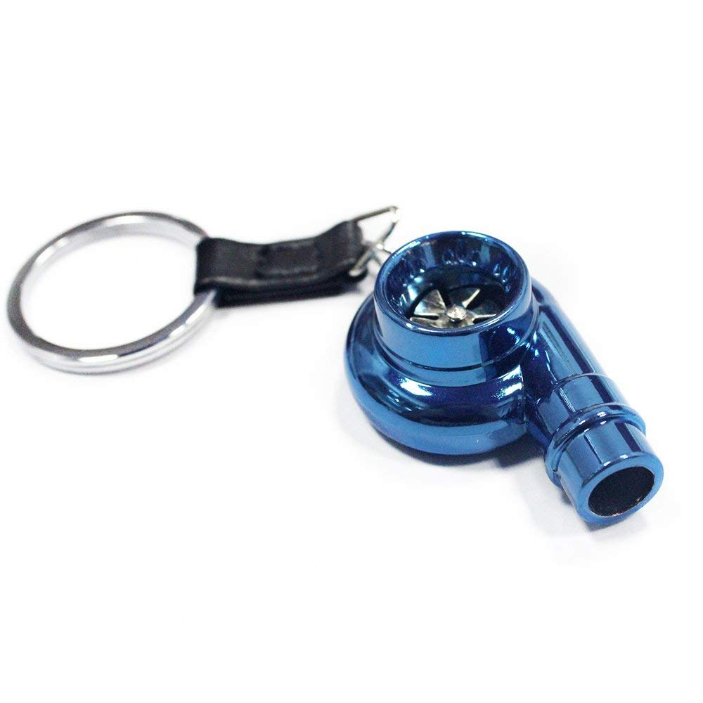 Collectables Spinning Whistling Metal Keychain mini turbo