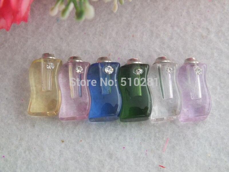 100 шт. Духи Подвеска бутылка, флакон кулон бутылка LK-3585