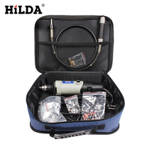 HILDA 25PC Metal Sets 400W Electric Variable Speed Dremel Style Rotary Tool Mini Drill Grinding Machine