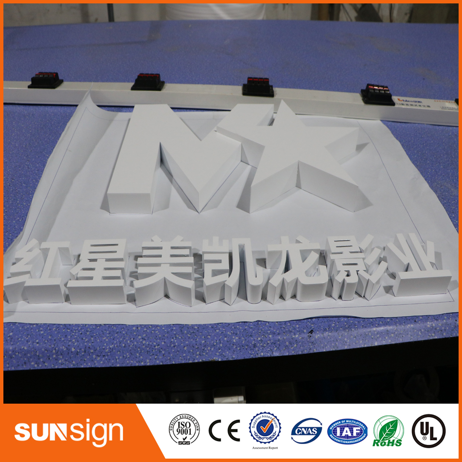 Indoor Led Channel Letters No Light