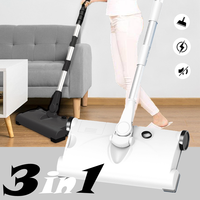 Wireless 3 In 1 Handheld Vacuum Cleaner Mop Rechargeable 360 Degree Rotatable Noiseless Dust Sweeper Home Cleaning Appliances