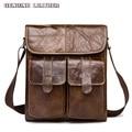 Genuine Leather Men Messenger Bag Famous Brand Shoulder Bag Small Organizer Storage Bag Pouch Bags for Men Crossbody Male Mala
