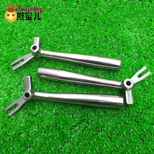 Smile Boy Stainless Steel Handle For Ice Cream Machine Ice Cream Maker Part Handle 1 pcs Ice Cream Maker Part For Carpigiani single front head panel old version of ice cream machine with 1 nozzle replacement spare part of soft ice cream machine