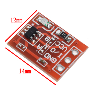 Image 5 - 10PCS TTP223 Touch Key Switch Module Touching Button Self Locking/No Locking Capacitive Switches Single Channel Reconstruction