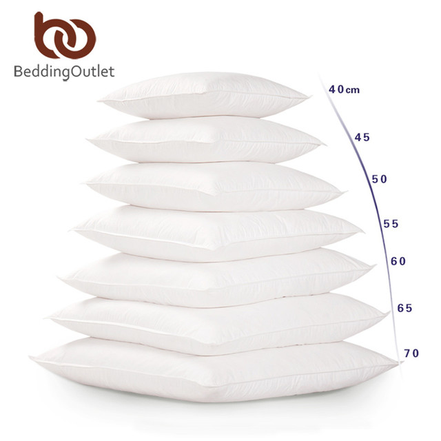 Classic Style White Soft Pillow