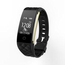 S2 Smart Группа Музыка Управление браслет Heart Rate IP67 Водонепроницаемый Bluetooth smartband для Iphone для Android дешевые часы