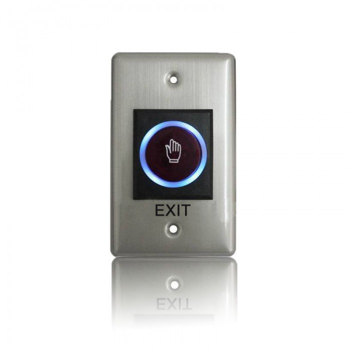 Stainless No touch Exit Switch Inductive/Exit Button Sensor for access control system