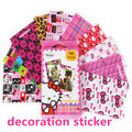 Fujifilm Instax mini7s Mini 8 Stickers Checky Cartoon Mickey kitty vigny Decoration Sticker  for Instax Mini Film (10 Sheets )